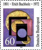 [The 100th Anniversary of the Birth of Erich Buchholz, Artist, type AVQ]