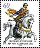 [The 400th Anniversary of the Death of Jan von Werth, General, type AWB]