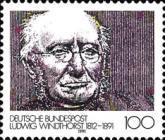 [The 100th Anniversary of the Death of Ludwig Windthorst, Politician, type AWH]