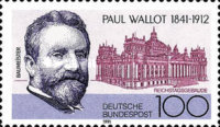 [The 150th Anniversary of the Death of Paul Wallot, Architect, type AXH]