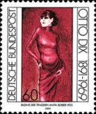 [The 100th Anniversary of the Birth of Otto Dix, Artist, type AYR]