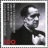 [The 100th Anniversary of the Birth of Julius Leber, Politician, type AYT]