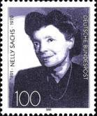 [The 100th Anniversary of the Birth of Nelly Sachs, Writer, type AYU]