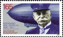 [The 75th Anniversary of the Death of Ferdinand Graf von Zeppelin, type AZR]