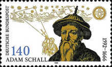 [The 400th Anniversary of the Birth of Johann Adam Schall von Bell, Astronomer, type BAB]