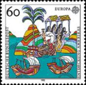 [EUROPA Stamps - Voyages of Discovery in America, type BAC]