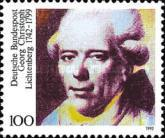[The 250th Anniversary of the Birth of Georg Christoph Lichtenberg, type BAK]
