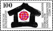 [International House Keeping Congress ' 92, type BAO]