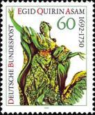 [The 300th Anniversary of the Birth of Egid Quirin Asam, Artist, type BAS]