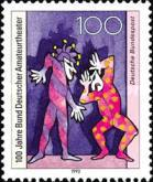 [The 100th Anniversary of the German Amateur Theatre, type BAU]