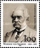 [The 100th Anniversary of the Death of Werner von Siemens, Inventor and Engineer, type BBK]