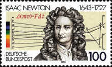 [The 350th Anniversary of Isaac Newton, Physicist, type BBO]