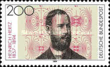 [The 100th Anniversary of the Death of Heinrich Hertz, Physicist, Typ BEA]