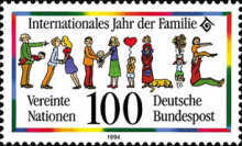 [The International Family Year, type BEB]