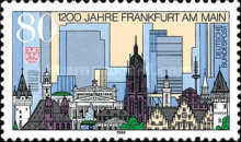 [The 1200th Anniversary of Frankfurt, Typ BEL]