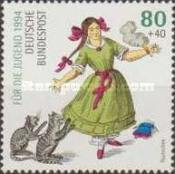 [Charity Stamps - Fary Tales - The 100th Anniversary of the Death of Heinrich Hoffmann, Typ BER]