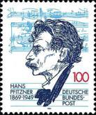 [The 125th Anniversary of the Birth of Hans Pfitzner, Composer, Typ BFA]