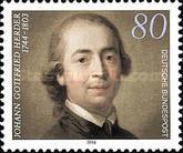 [The 250th Anniversary of the Birth of Johann Gottfried Herder, Writer and Theologian, Typ BFL]