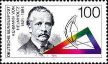 [The 100th Anniversary of the Birth of Hermann von Helmholtz, Scientist, Typ BFQ]