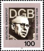 [The 100th Anniversary of the Birth of Willi Richter, President of a Trade Union, Typ BFR]