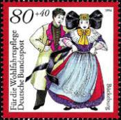 [Charity Stamps - Costumes, Typ BFV]
