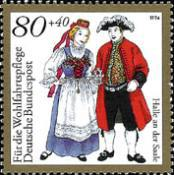 [Charity Stamps - Costumes, Typ BFW]