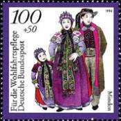 [Charity Stamps - Costumes, type BFX]
