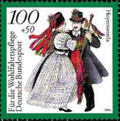 [Charity Stamps - Costumes, type BFY]