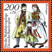 [Charity Stamps - Costumes, Typ BFZ]