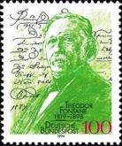 [The 175th Anniversary of the Birth of Theodor Fontane, Poet, Typ BGF]