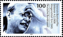 [The 50th Anniversary of the Death of Dietrich Bonhoeffer, Theologian, Typ BHA]