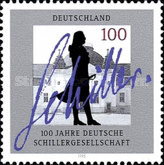 [The 100th Anniversary of the German Schiller Society, Typ BHE]