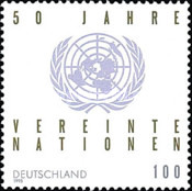 [The 50th Anniversary of United Nations, Typ BHQ]