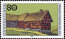 [Charity Stamps - Farmhouses, Typ BIF]