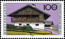 [Charity Stamps - Farmhouses, Typ BII]