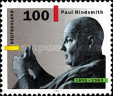 [The 100th Anniversary of the Birth of Paul Hindemith, Composer, Typ BIN]