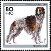 [Charity Stamps - Dogs, type BIW]