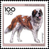 [Charity Stamps - Dogs, type BIY]