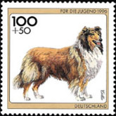[Charity Stamps - Dogs, type BIZ]