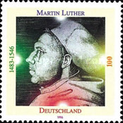 [The 450th Anniversary of the Death of Martin Luther, type BJB]