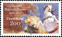 [The 300th Anniversary of the Birth of Giovanni Battista Tiepolo, Painter, type BJH]