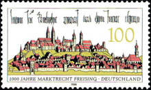 [The 1000th Anniversary of Freisings Franchise to Hold a Fair, type BJQ]