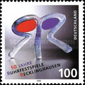 [The 50th Anniversary of the Ruhr Festival Play in Recklinghausen, type BJT]