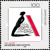 [The 300th Anniversary of the Academy of Fine Arts in Berlin, type BKA]