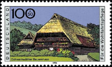 [Charity Stamps - Farmhouses, type BKU]