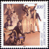 [The 200th Anniversary of the Birth of Franz Schubert, Austrian Composer, type BLE]