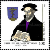 [The 500th Anniversary of the Birth of Philipp Melanchthon, Scientist, type BLL]