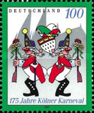 [The 175th Anniversary of the Cologne Carnival, type BLM]