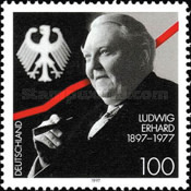 [The 100th Anniversary of the Birth of Ludwig Erhard, type BLN]