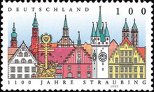 [The 1100th Anniversary of Straubing, type BLT]
